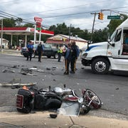 Vineland Police are investigating a crash involving a motorcycle and a tractor trailer along Landis Avenue that claimed the life of a Cumberland County man. Sept. 5, 2019