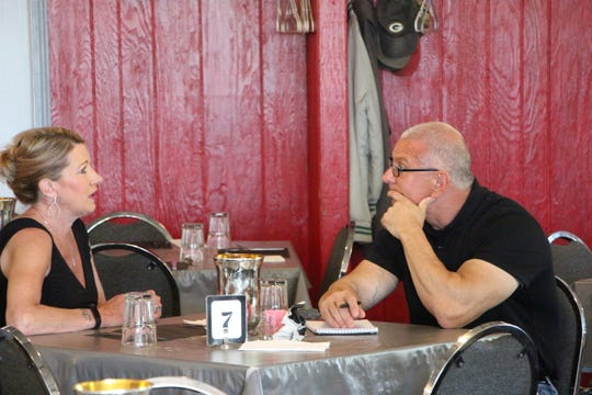 Robert Irvine sits down with Brenda Graff to discuss the major problem with her restaurant as seen on Restaurant: Impossible.