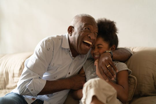 Between grandparents and grandchildren, the lessons and love go both ways.