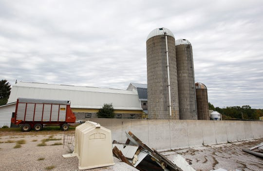 The Petersen farm, as seen on Thursday, September 5, 2019, in Pittsville, Wis. Pete Petersen died one year ago after falling from a silo due to exposure to silo gas, which spurred to Pittsville Fire Department to acquire a gas meter that can detect the gas.