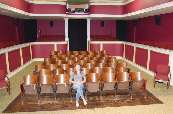 Texas Theater manager Kate Clark has a front row seat to the rebirth of the 1920s Saint Jo, Texas, fixture.
