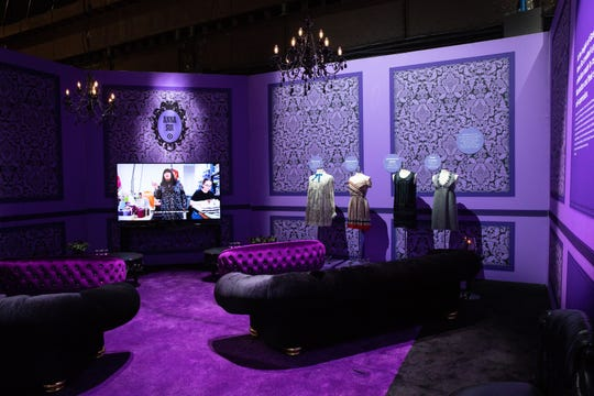 The Anna Sui exhibit.