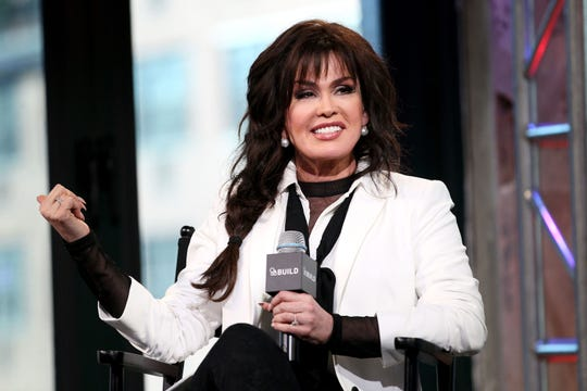 "Marie Osmond has joined ""The Talk"" as the newest co-host, replacing Sara Gilbert."