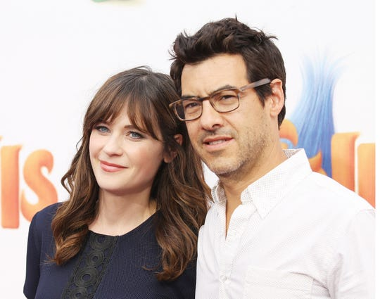 Zooey Deschanel and Jacob Pechenik have separated after four years of marriage.