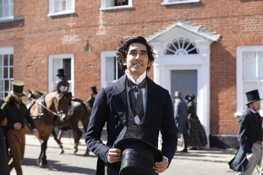 "Dev Patel stars as Charles Dickens' well-known literary character in ""The Personal History of David Copperfield."""