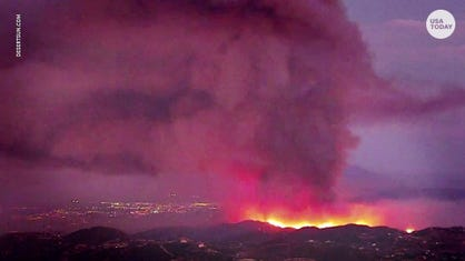Tenaja Fire: Wildfire near Murrieta holds at 2,000 acres