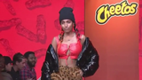 Cheetos heats up New York Fashion Week with an orange-themed catwalk show, the first of its kind. (Sept. 6)