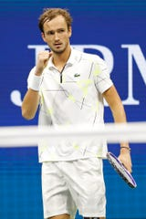 Westlake Legal Group 5e07b121-bf9a-4910-be55-29c0b78e9d4d-USP_Tennis__US_Open US Open: Daniil Medvedev advances to first Grand Slam final with win over Grigor Dimitrov