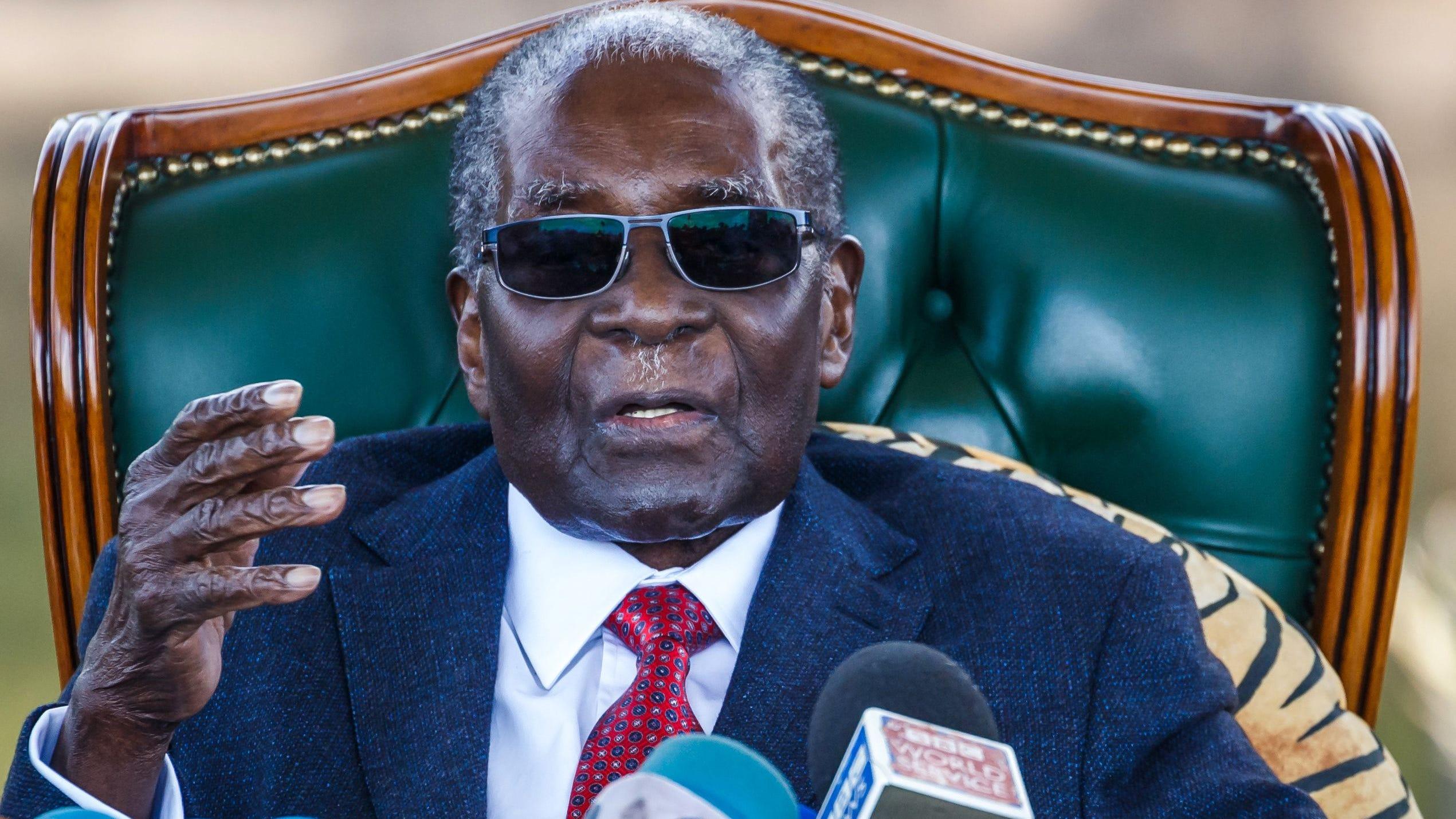 Mugabe Simbabwe