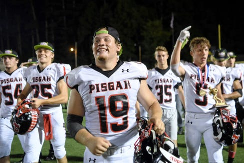 Pisgah defeated Tuscola 14-0 in the annual rivalry game at C.E. Weatherby Stadium in Waynesville September 6, 2019.