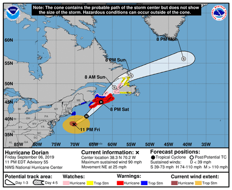 Hurricane Dorian: NC road closure list, traffic updates from