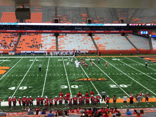 Maine-Endwell vs. Carthage on Sat., Sept. 7 in the Carrier Dome.