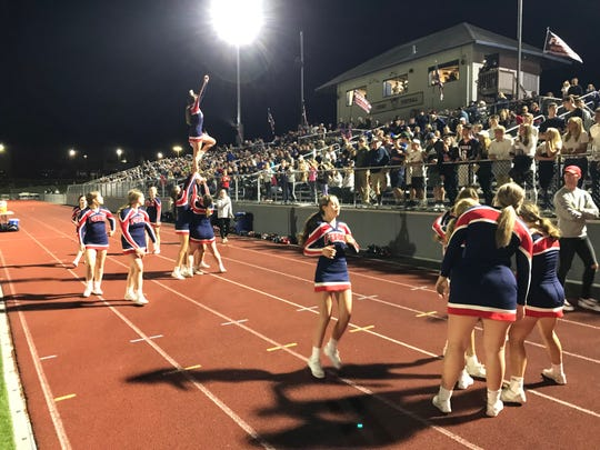 Forks Nation was out in force for Friday's football season opener against Owego.