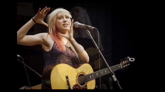 Singer-songwriter Ariana Gillis performs Sept. 19 at the Treehouse Cafe on Bainbridge Island.