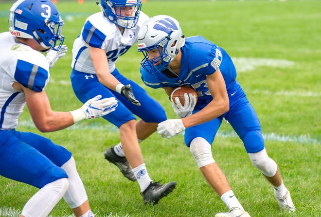 Jaron Filliater is one of several skill players returning for Wynford this fall on the gridiron.
