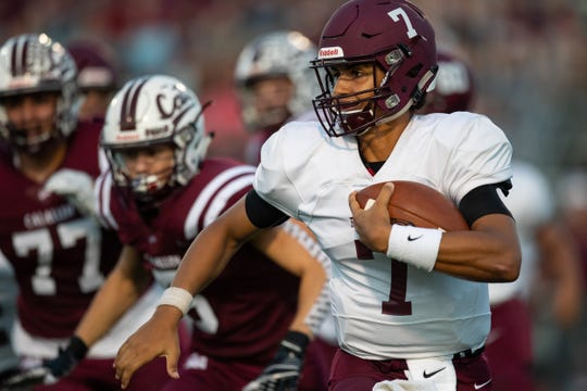 Calallen defeats Flour Bluff 24-10  at Wildcat stadium on Friday, Sept. 6, 2019.
