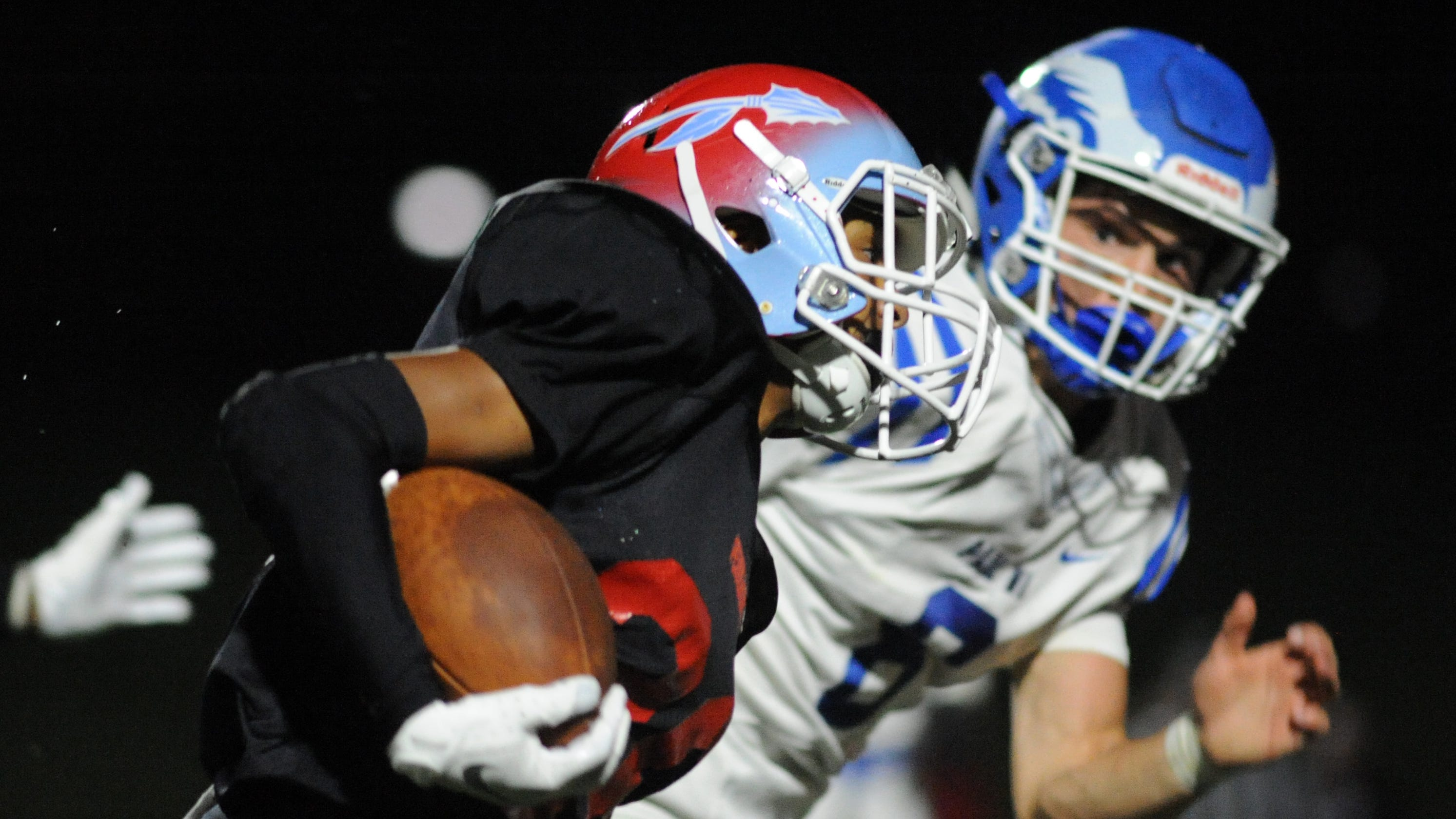 Pennsauken football beats Paul VI under Friday night lights