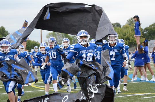 Chillicothe defeated Mifflin 27-14 on Friday, Sept. 5, 2019, in Chillicothe, Ohio.