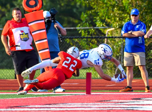 High school football: CovCath rallies to beat Lexington Catholic