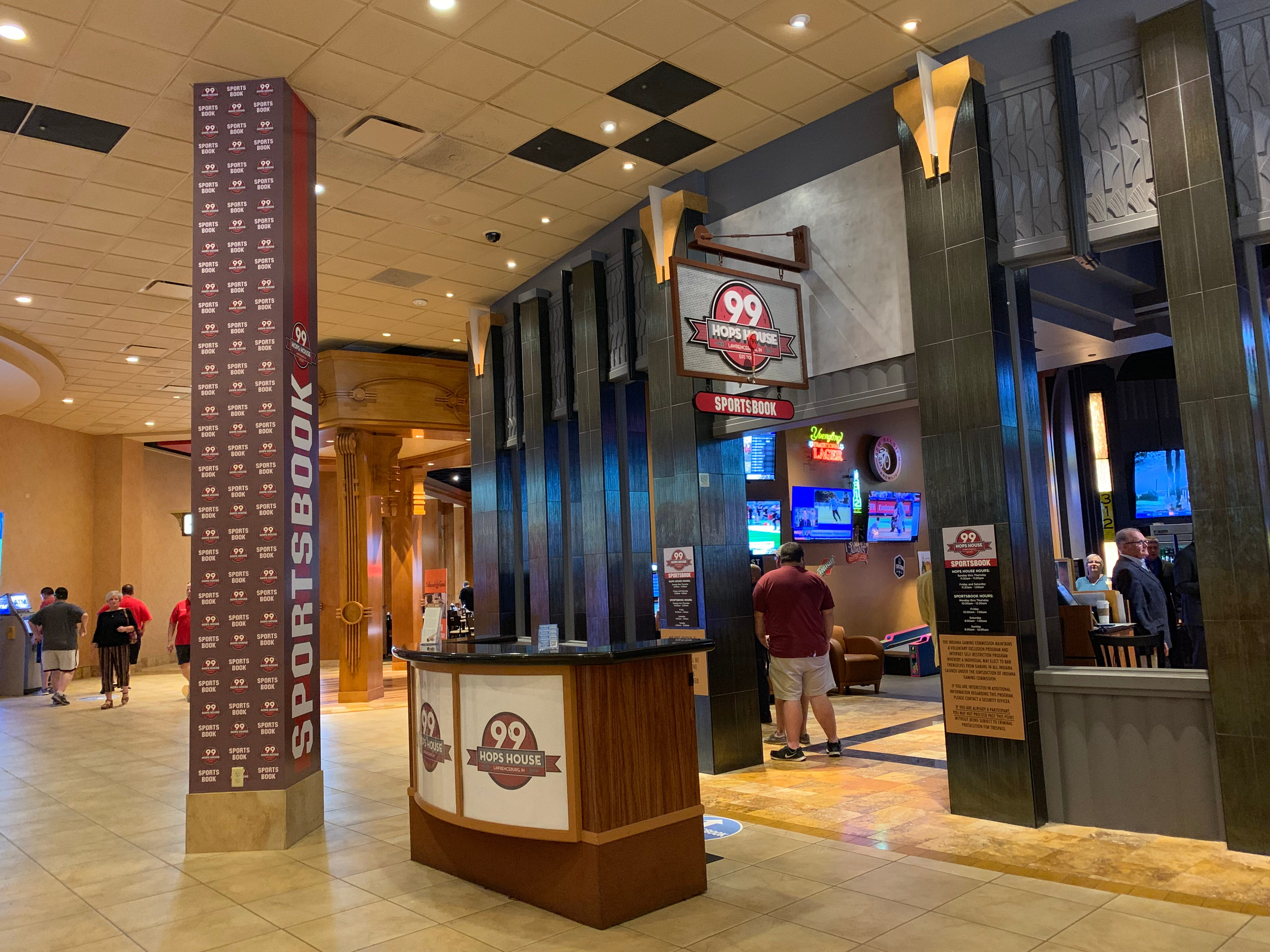 hollywood casino sports betting indiana