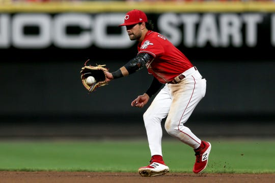 After torn ACL, Alex Blandino looking to make most of his September with Cincinnati Reds