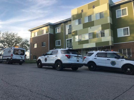 A woman was transported to a Des Moines hospital in serious condition after her boyfriend claimed he accidentally shot her while cleaning his gun.