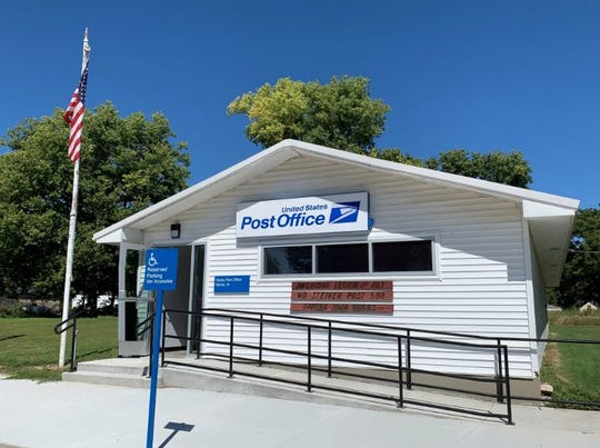 The Varina Post Office's new location on 205 Main St.