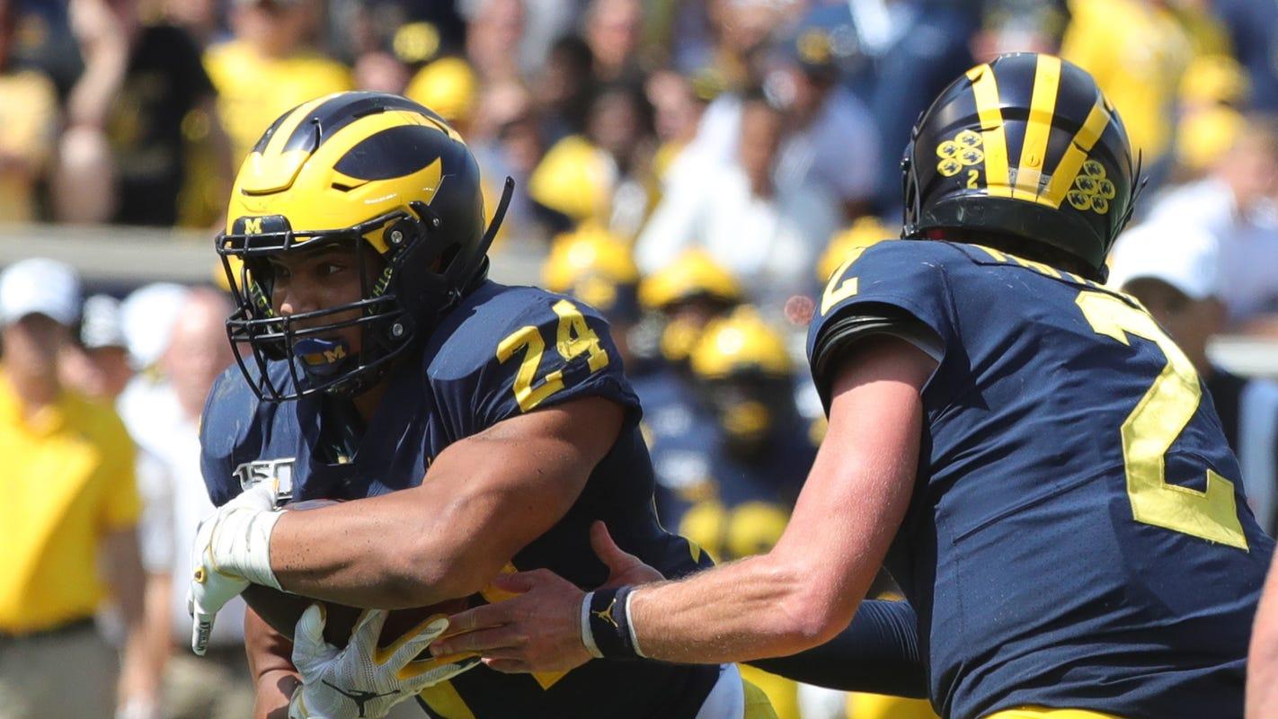 No. 10 Michigan football opens as underdog at No. 14 Wisconsin