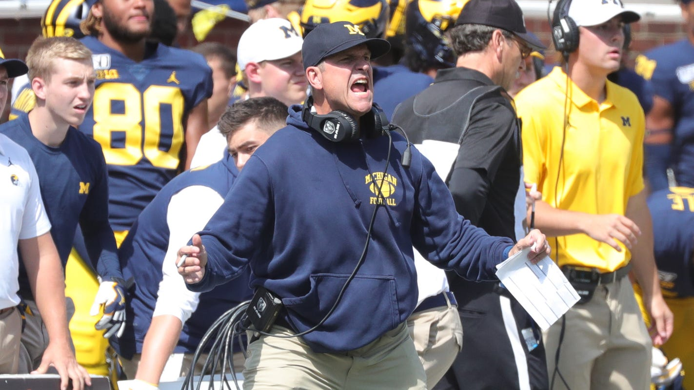 Jim Harbaugh's Michigan football news conference: Live updates at noon