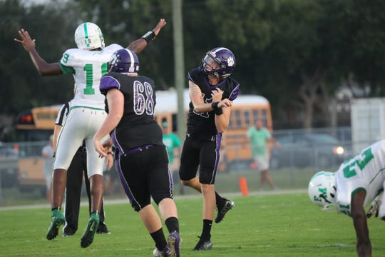 Cypress Lake plays Fort Myers in high school football on Friday, September 6, 2019, at Cypress Lake High School.