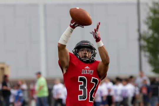 Marquis Munoz scored two touchdowns in Lafayette Jeff's win over Kokomo.