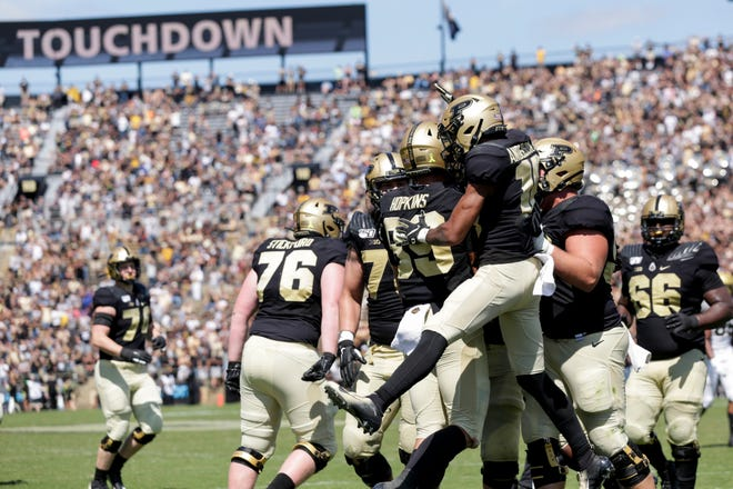 Purdue President Mitch Daniels says the university is considering a ban on staff and faculty wagering on Boilermakers games and student-athletes.