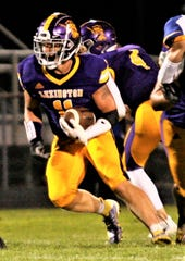 Lexington's Kaydan Berry was voted as the Mansfield News Journal Football Player of the Week