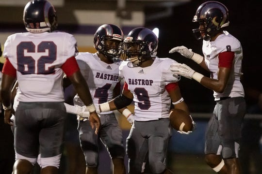 Bastrop defeated Wossman in the opening game of the season at Wossman High School in Monroe, La. on Sept. 6.