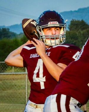Eagleville quarterback Marcus Collins.