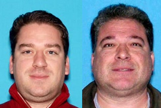 George Bussanich Jr., 39, of Upper Saddle River; and, George Bussanich Sr., 60, of Park Ridge.