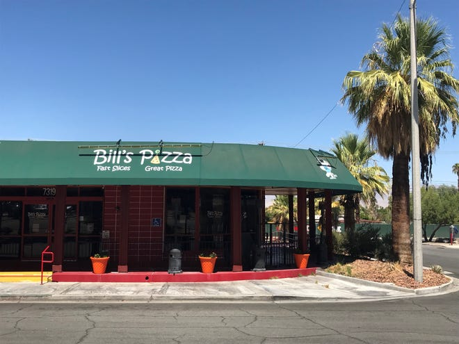 Bill's Pizza in Palm Desert is the location of a fall by Bill Tracy that sent him to the hospital in July 2019.