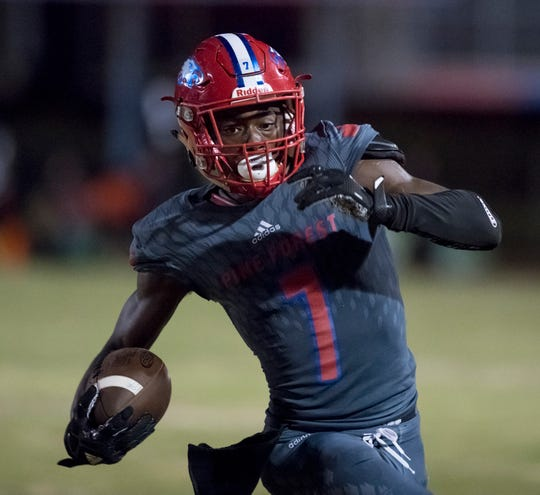 Tehrenzo Turner and Pine Forest's receiving corps have been explosive on the field and significant leaders for the Eagles during this season and in the playoffs.