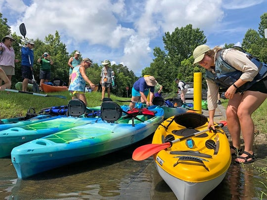 The Florida Public Archaeology Network guided kayak tour of the Blackwater River runs in a session held in July. The organization is hosting anther free tour in September.