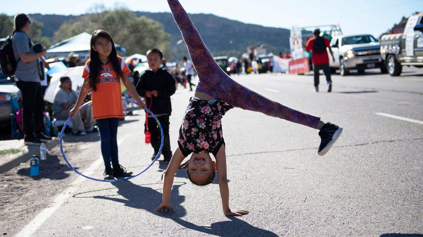Northern Navajo Nation Fair 2020.Navajo President Bans Candy At Parade