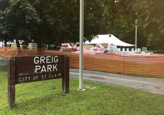 Greig Park on Friday, Sept. 6, 2019.