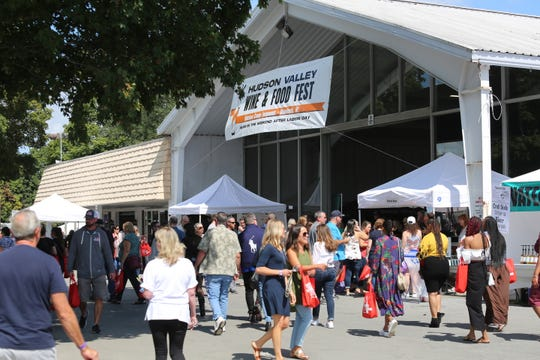 Scenes from the Hudson Valley Wine & Food Fest in Rhinebeck on Sept. 7, 2019.