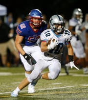 Luke Mahon scored two touchdowns and had two fourth-quarter interceptions for John Jay in a win over Carmel last week.