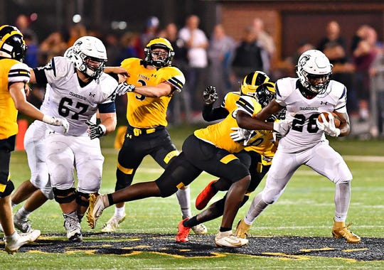 Chambersburg vs Red Lion during football action at Horn Field in Red Lion, Friday, Sept. 6, 2019. Red Lion would win the game 26-21. Dawn J. Sagert photo