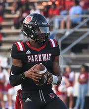 With six touchdowns, Parkway quarterback Gabe Larry led the way on the first Prep Fantasy Football ball of 2019.
