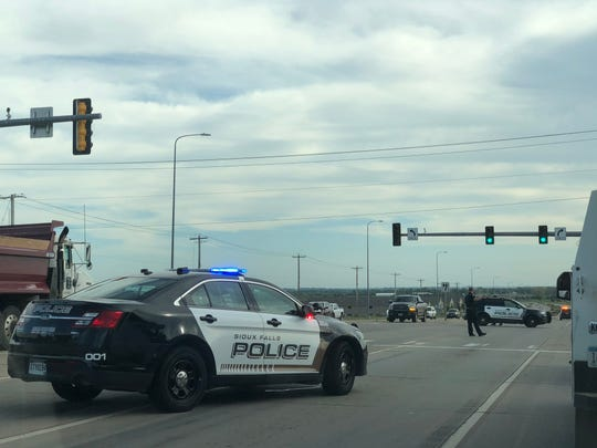 Police responded to a report of a rollover near 41st Street and Highway 11 around 4:30 p.m. on Friday.
