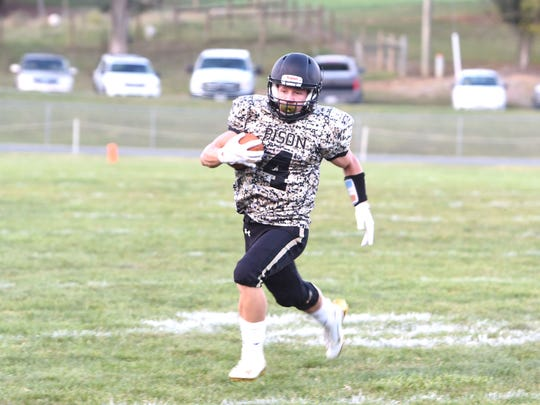 Buffalo Gap's Tucker Kiracofe has led the offensive attack for the Bison this season.