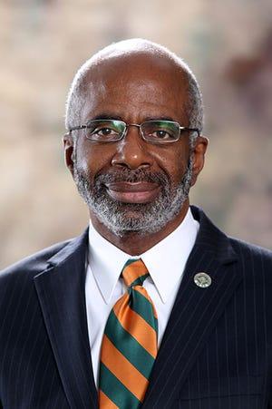 Dr. Larry Robinson, president of Florida A&M University