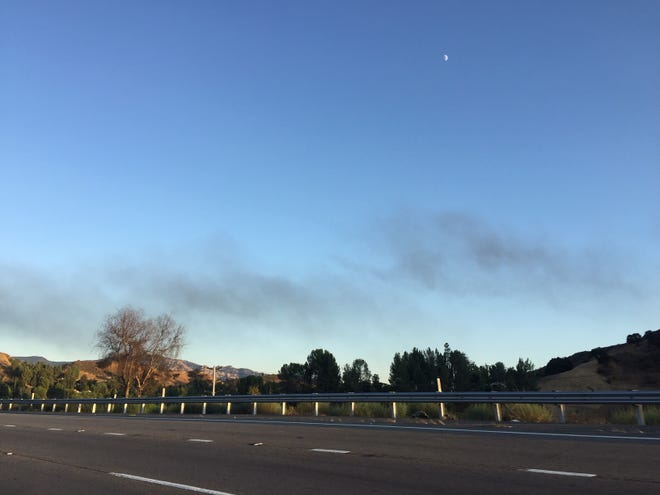 Smoke is seen in the vicinity of Agoura and Cornell. Fire crews are en route to respond to it.