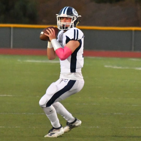 James McNamara completed 13 of 18 passes for 222 yards and three TDs to lead unbeaten Camarillo past rival Rio Mesa.